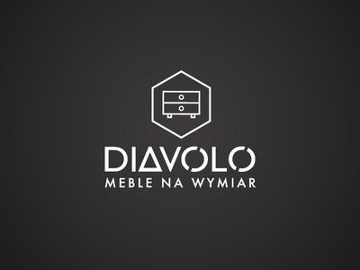 Diavolo - Furniture logotype white black logo furniture