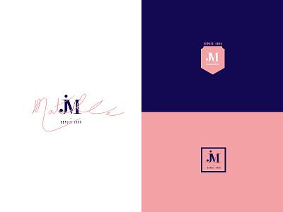 JM Immobilier logo branding