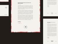 Variette editorial design