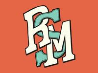 RSM text type r s m texture