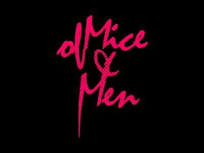 Of Mice & Men Type of mice  men of mice and men warped tour design type typography music branding identity
