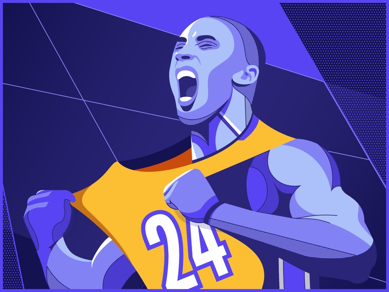 Kobe scream roar ball 8 24 purple sports sport basketball nba lakers black mamba mamba kobe bryant kobe
