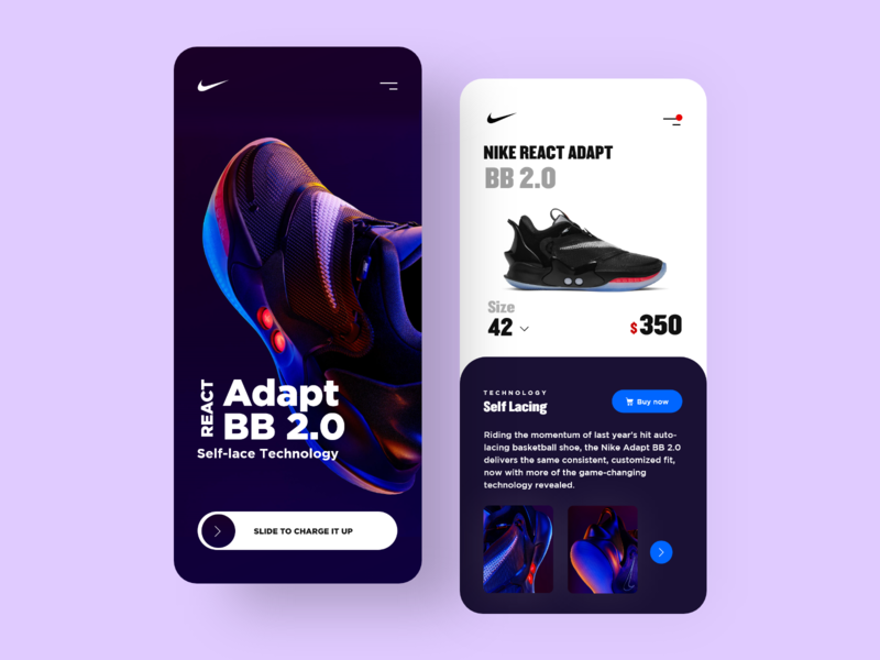 Nike Adapt Application ecommerce app shoes app nike shoes nike air ios app ecommerce nike app userexperience uiux design userinterface ux ui