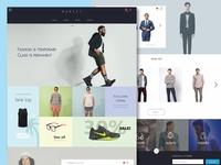 Manify,Men's fashion E-commerce website.