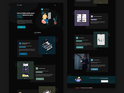 Cri8tors Website Design web development illustration design agency agency