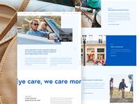 Corporate eyewear website 👁