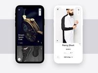 Minimal eCommerce  Mobile app