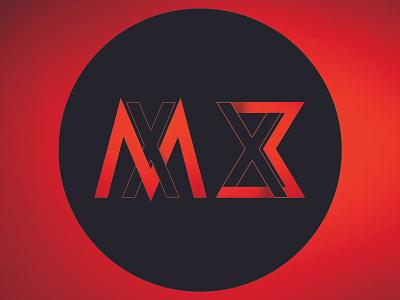 MX logo illustration ui logo