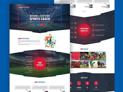 Sports Coaching Web Template