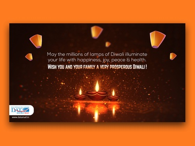 Datamail Diwali design ui branding