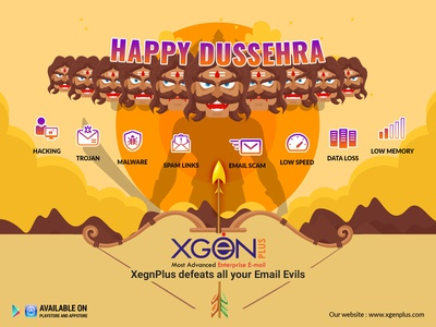 Dussehra Social post