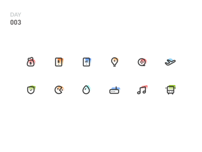 Day 003-Service icon