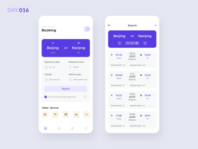016-Booking train ticket App