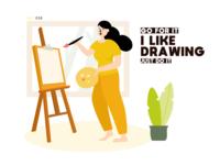 018-illustration-I like drawing