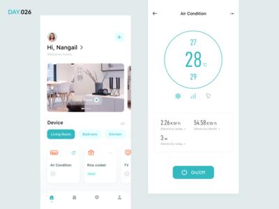 026-Smart Home System App Concept