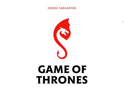 Game of thrones - targaryen graphic design symbol geometric targaryen gameofthrones got flame logo animal dragon
