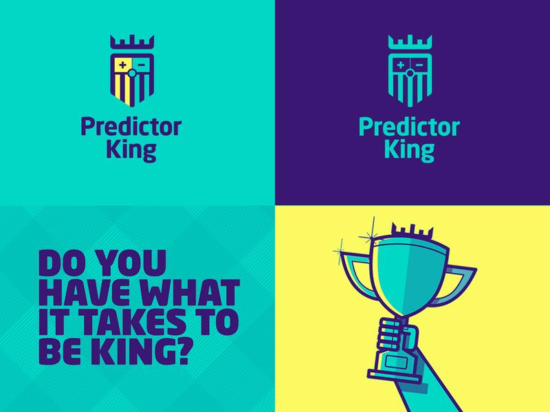 Predictor King logo + brand