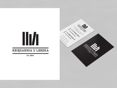 Book store. book strore bw print pawelpielach design graphic simple business card logo icon branding