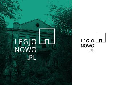 Logo Legjonowo.pl interwar old architecture pielachpawel branding logo