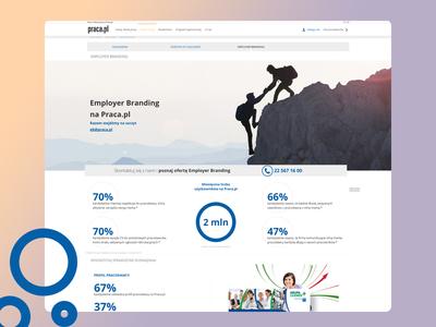 Employer Branding pielachpawel employer branding jobboard graphicdesign web graphic webdesign design ux ui