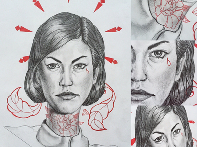 Elliphant portrait graphicdesign pielachpawel drawing graphic design art portrait