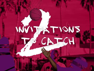2x invitations to catch! draft dribbble draft play pielachpawel invitations design graphic design