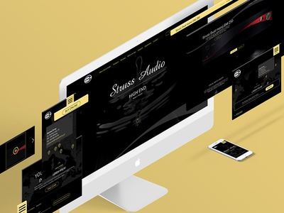HIGH END amplifiers amplifiers music ui design pielachpawel poland graphicdesign web graphic webdesign design ux ui