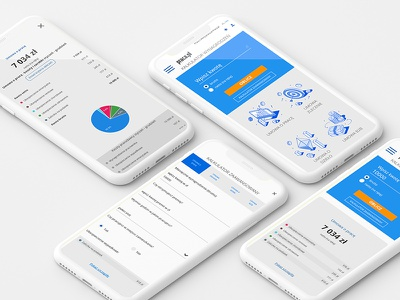 Salary Calculator mobile design mobile ui design pielachpawel poland graphicdesign web graphic webdesign design ux ui