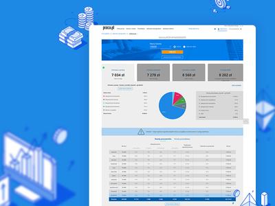Salary Calculator - Desktop version salary desktop ui design pielachpawel poland graphicdesign web graphic webdesign design ux ui
