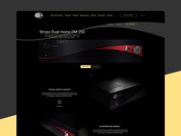 Struss Audio website