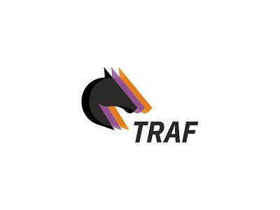 Logo for Trafonline.pl poland pielachpawel vector branding graphic pawelpielach race traf logo design races horses bets mutual