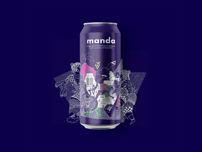 MANDA GRAPE JUICE