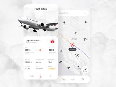 Flight tracking  ✈