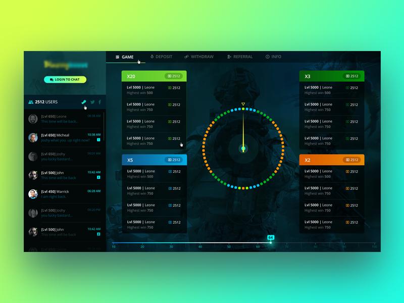 Desktop Gaming App by Suri on Dribbble