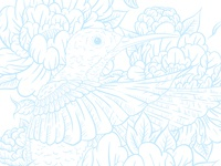 Hummingbird Inking Guide