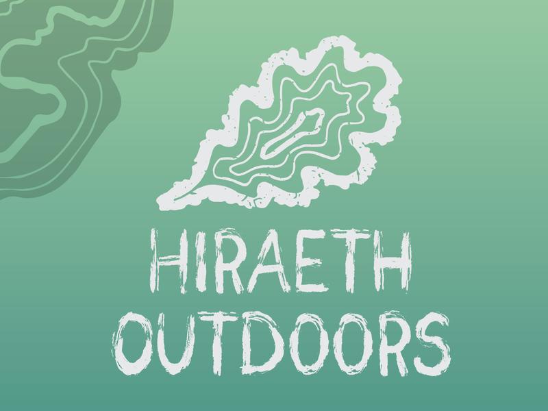 Hiraeth Outdoors brand identity brand design branding