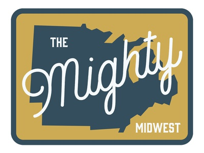 The Mighty Midwest patch hat midwest
