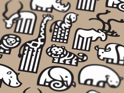 Animais icones 400x300