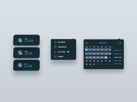 Dashboard menu Kit