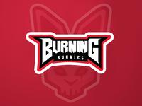 Burning Bunnies E-sport logo
