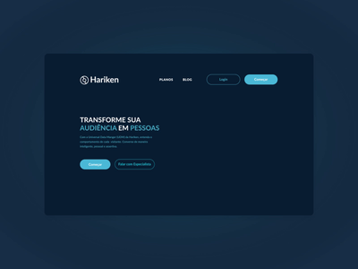 Animated Landing page