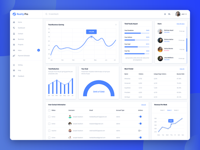 Freebie - Dashboard Design ios motion theme template web branding ux ui admin panel dashboard