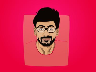Digital Portrait - Harshith Chadaram