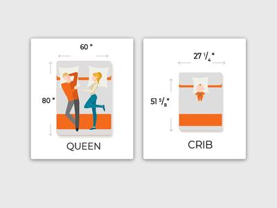 Mattress Illustrations