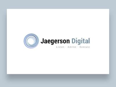 Jaegerson Digital Logotype