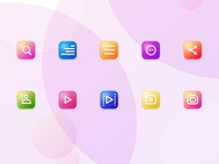 New Candy Icons Set