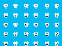 Teeth background