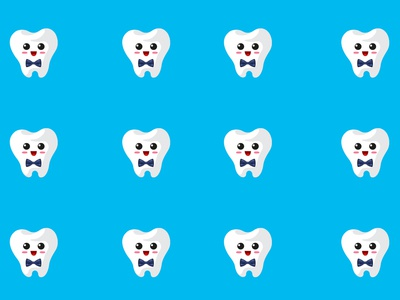Teeth Background + PSD
