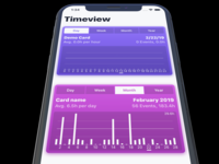 Timeview - new segmented controls