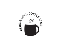 Peoria Open Coffee Club Logo Version 1